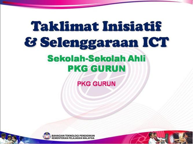 TAKLIMAT ICT 1