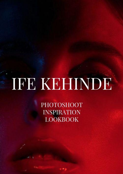 Ife Kehinde Website Photoshoot Lookbook