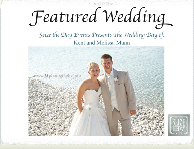 Featured Wedding Mag by Seize the Day Events - February Issue