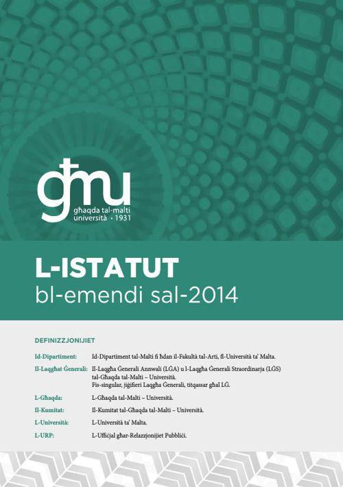 L-Istatut - GħMU