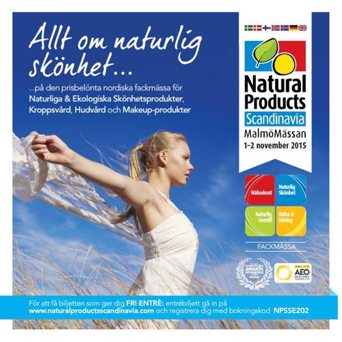 Natural Products Scandinavia Beauty 2015 Swedish