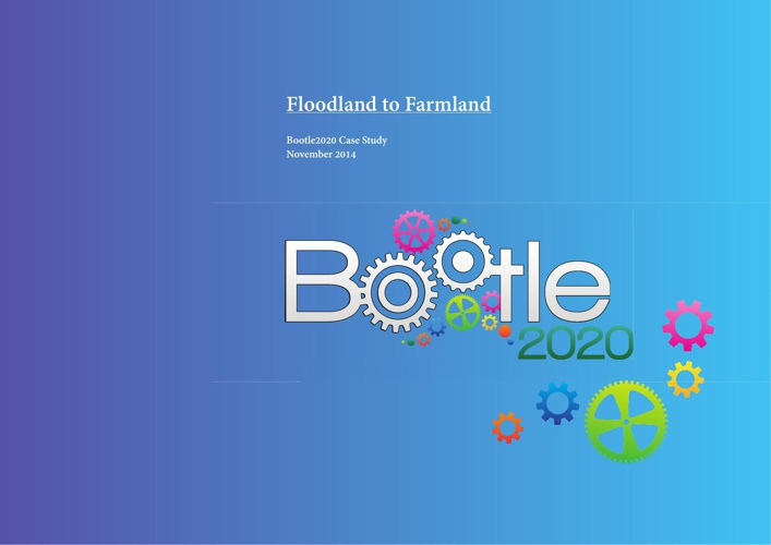 Bootle2020 Floodland to Farmland