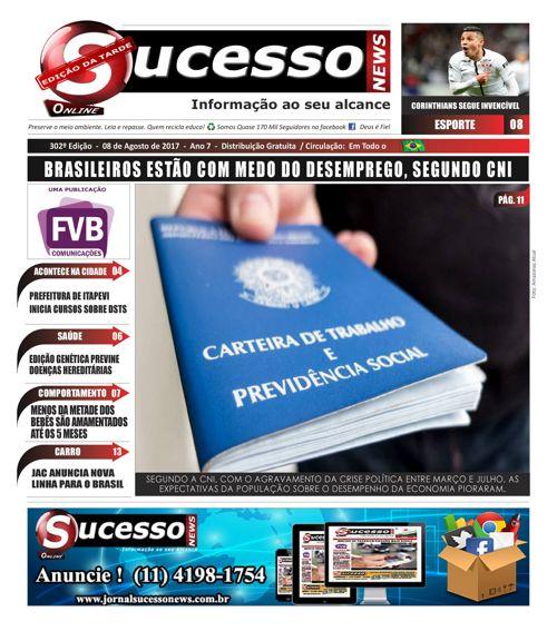 Jornal Sucesso News - Edição - 302 ONLINE