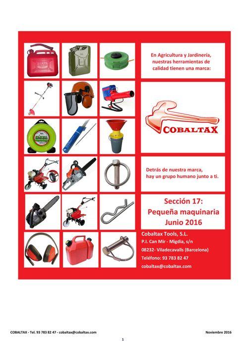 Cobaltax Nov-2016 17 Pequeña maquinaria y accesorios