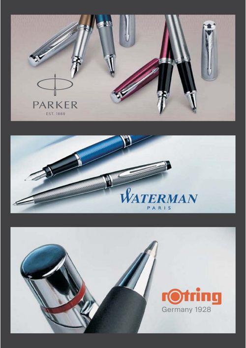 Escritura parker-waterman-rotring