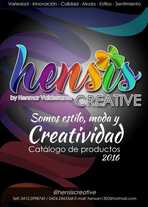 HENSISCREATIVE CATALOGO