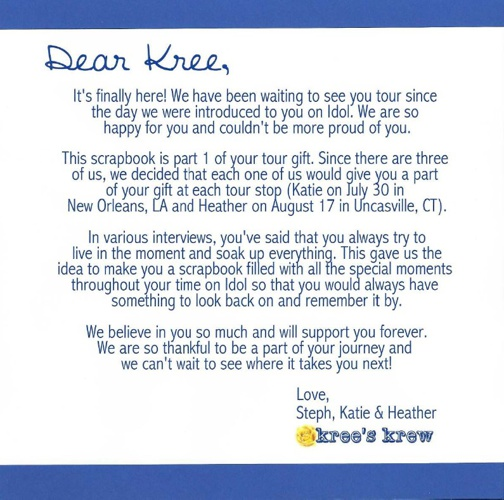Kree's Journey