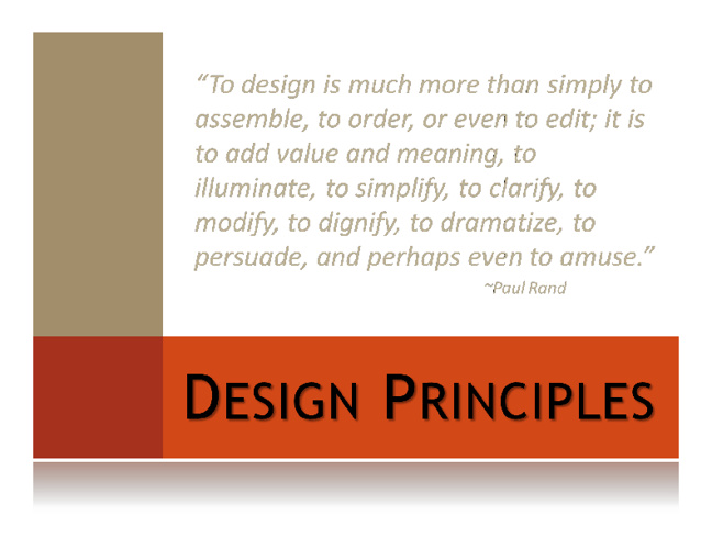 DC 1 Unit 3 Design Principles