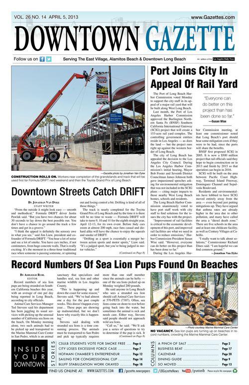 Downtown Gazette  |  April 5, 2013