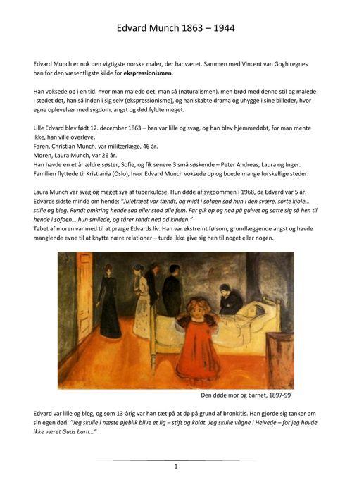 Om Edvard Munch