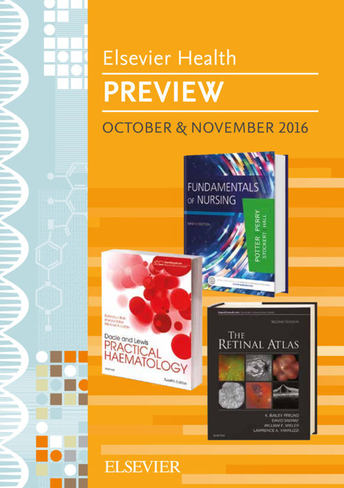 Elsevier Health Preview October and November 2016