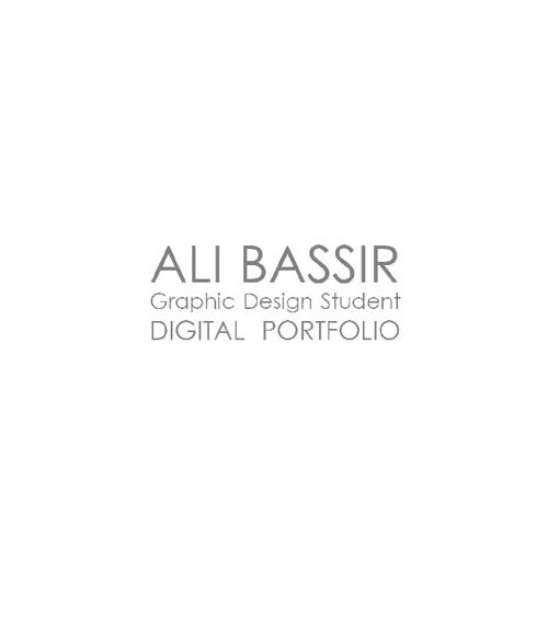 Ali Bassir - Digital Portfolio