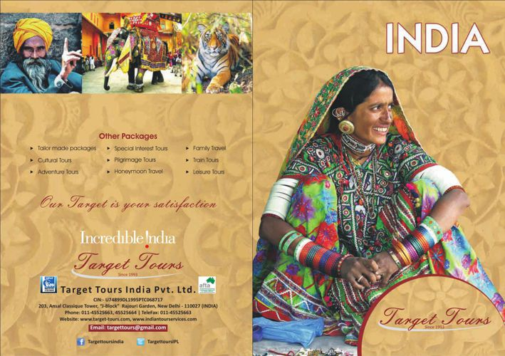 Target Tours India Brochure - Destination Management Company Ind