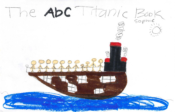 The ABC Titanic Book by Sophie