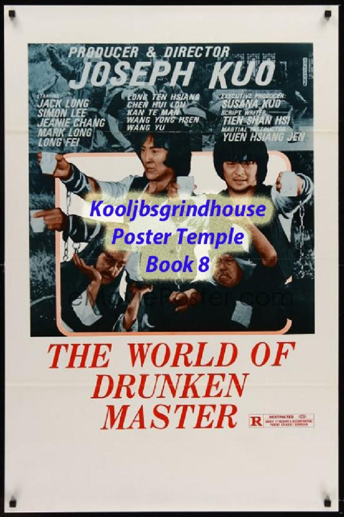 KOOLJBSGRINDHOUSE POSTER TEMPLE BOOK 8