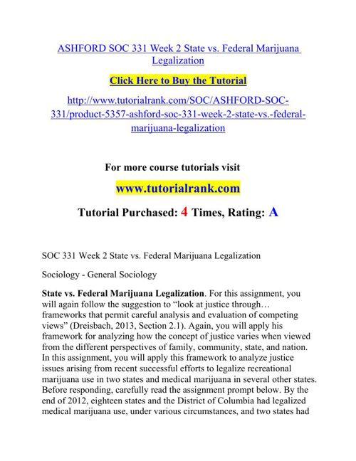 ASHFORD SOC 331 Week 2 State vs