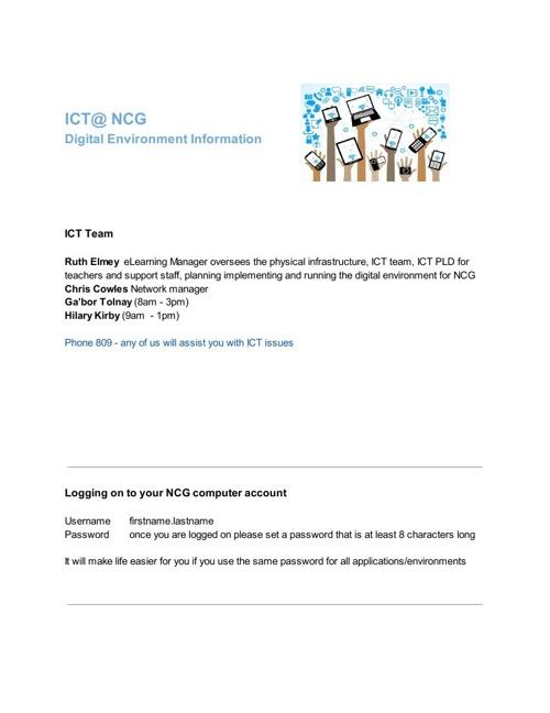 ICT@NCG