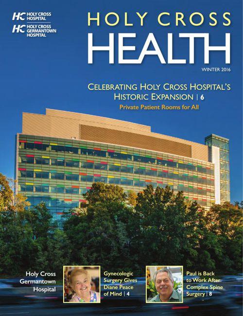 Holy Cross Health Winter 2016