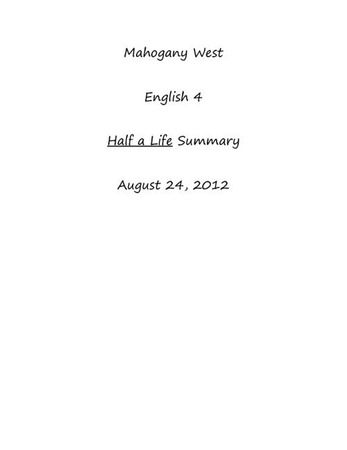 My Flip Book, West.M