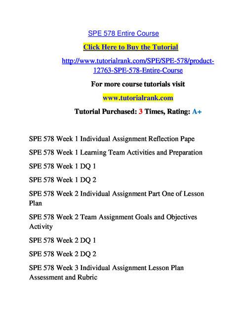 SPE 578 Slingshot Academy / Tutorialrank.Com