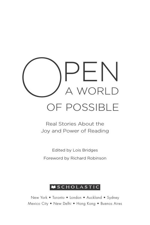 scholastic open a world of possible ebook