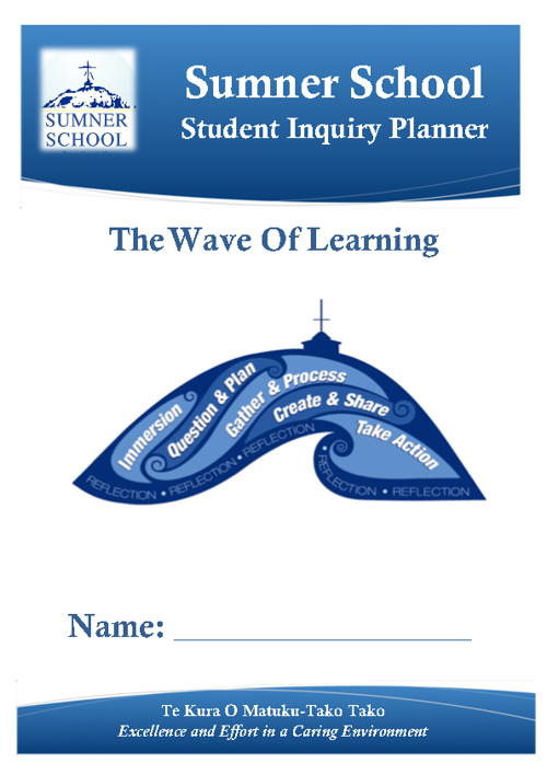 Wave of Learning Student Planner