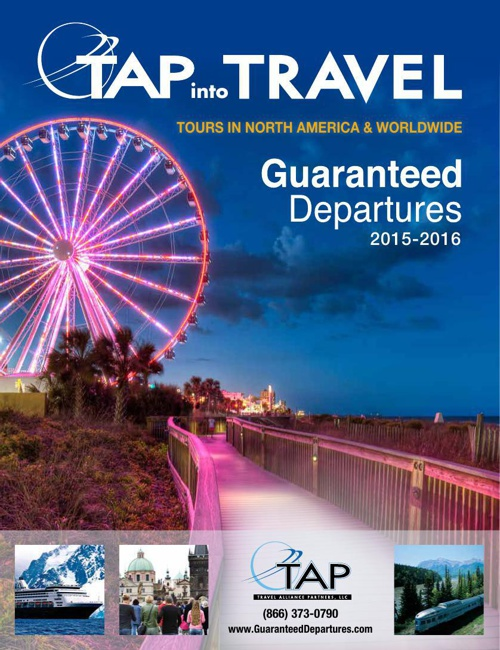 TAP Into Travel 2015-2016 Guaranteed Departures