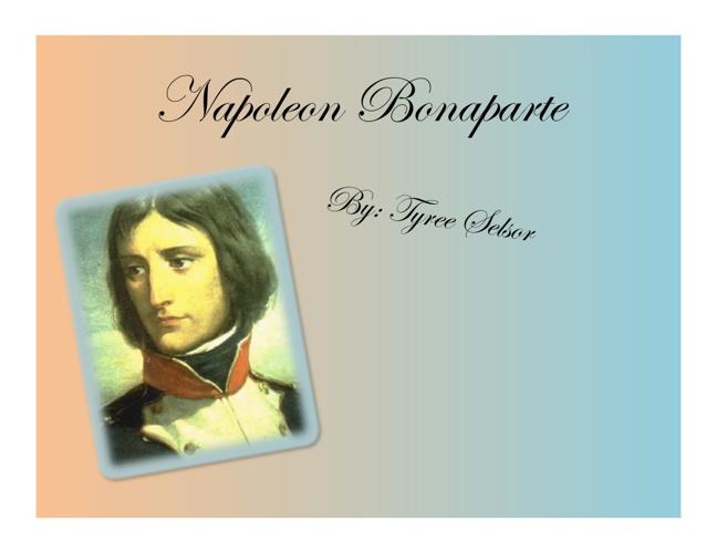 Napoleon Baonaparte Scrapbook