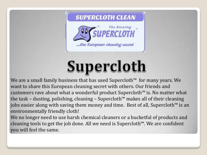 Supercloth