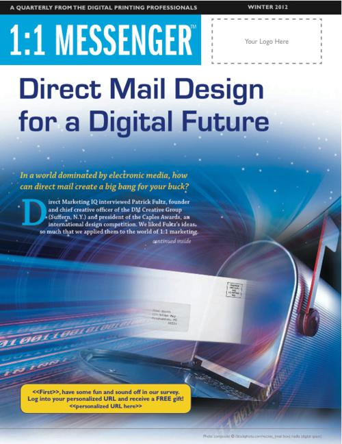 1:1Messenger Direct Mail Design for a Digital Future