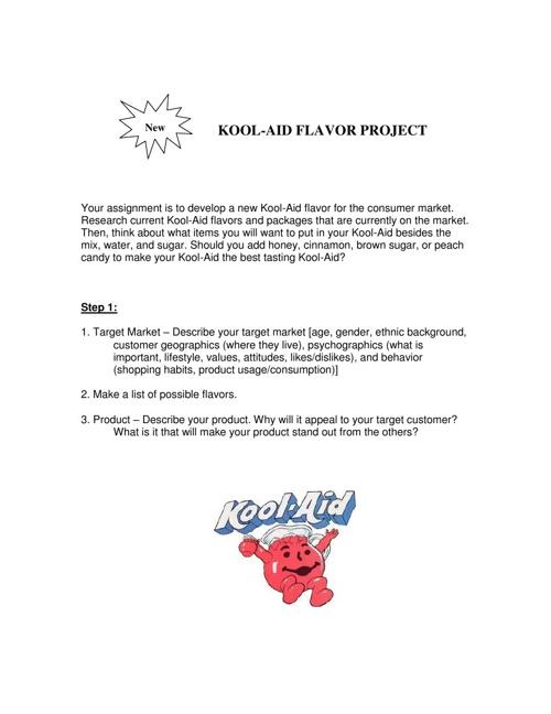 Kool-Aid Project