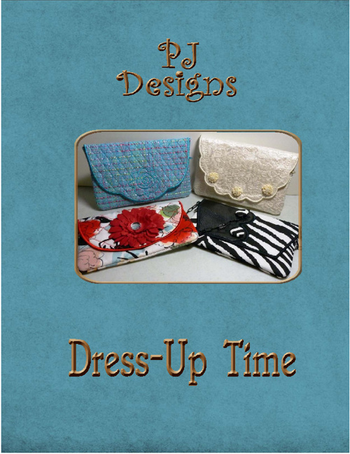 PJ's in-the Hoop Dress-UP Time