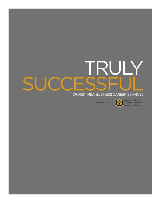Crosby MBA Viewbook