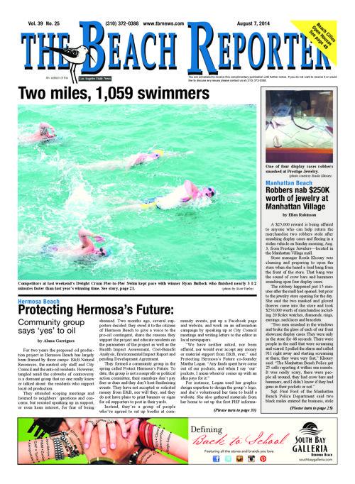 The Beach Reporter   8-7-14