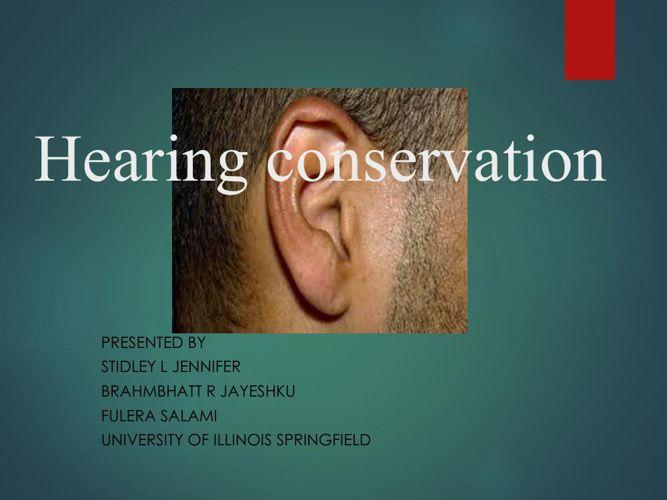 Hearing loss intervention