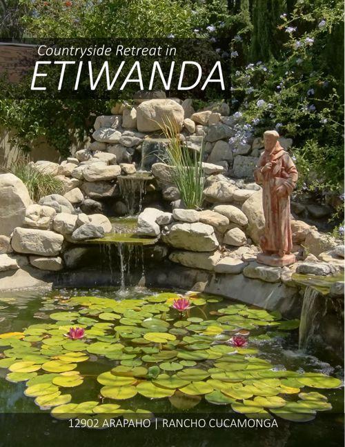 Countryside Retreat in Etiwanda: 12902 Arapaho in Rancho Cucamon