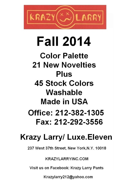 Krazy Larry Fall 2014