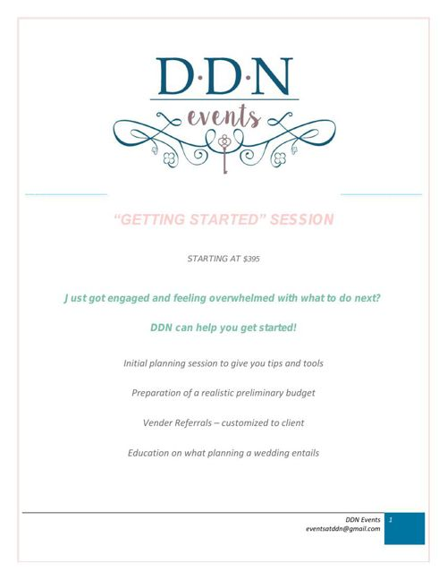 DDN Events Services