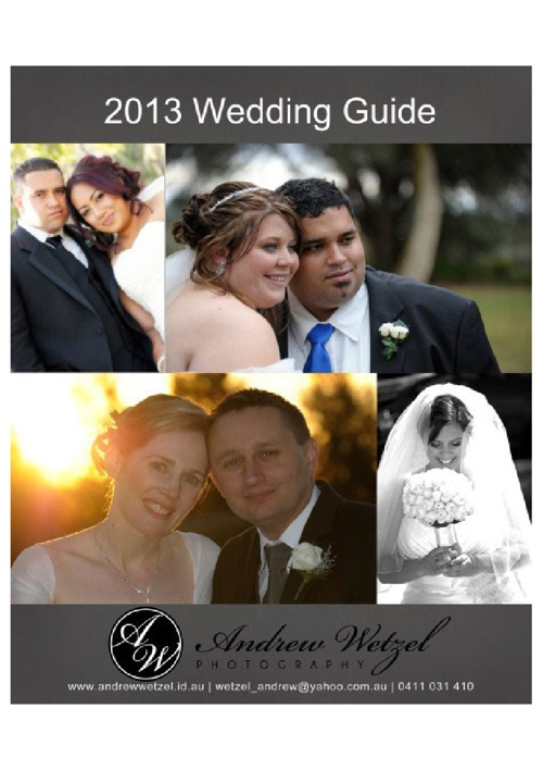 Copy of Wedding Photography Packages - Andrew Wetzel Photography