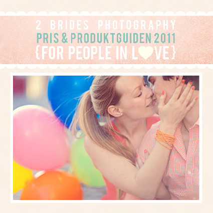 2 Brides online wedding photography price guide