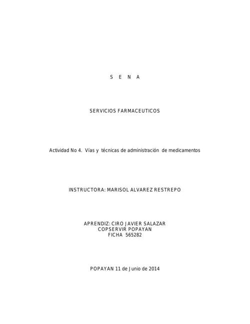Copy of DESARROLLO VIAS Y TECNICAS DE ADMINISTRACION DE MEDICAME