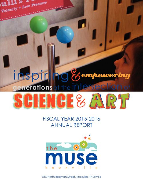The Muse Knoxville Annual Report 2015-2016
