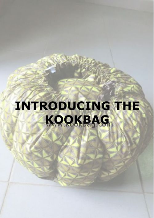 Introducing the KOOKBAG - with Recipes