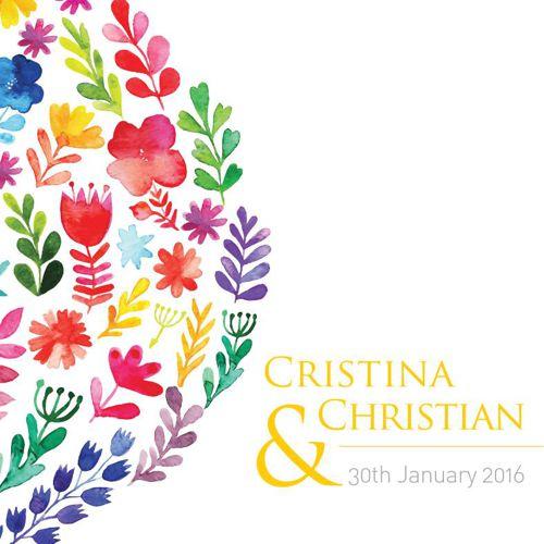 Invitación Cris&Chris