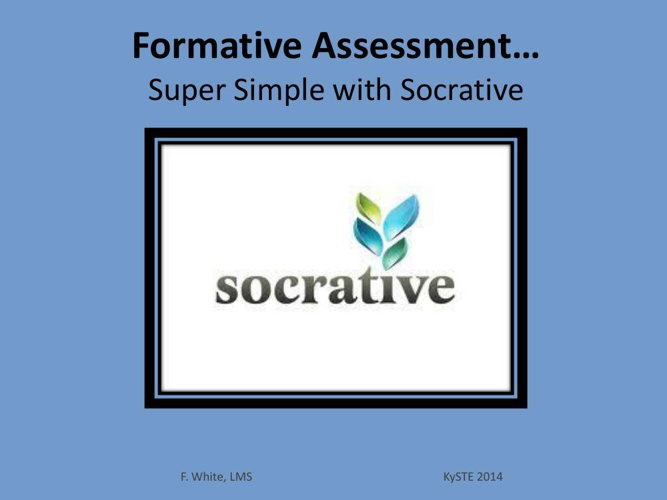 Socrative for KySTE