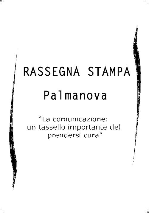 rassegna Stampa Palmanova