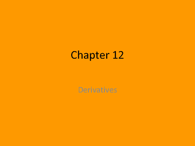 NCVPS Ch. 12 Derivative Presentation