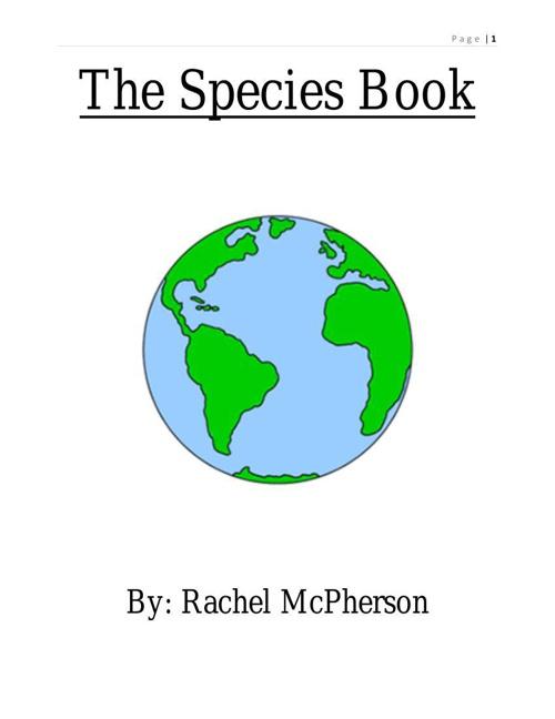 Species Flipbook