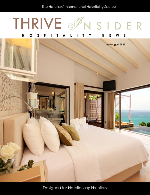 Thrive Insider - Hospitality News August/ July 2011