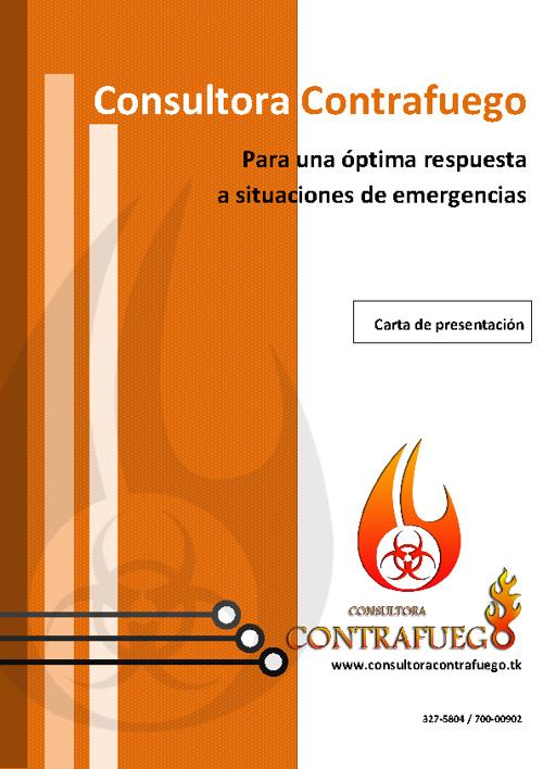 Copy of Consultora Contrafuego - Carta de Presentacion